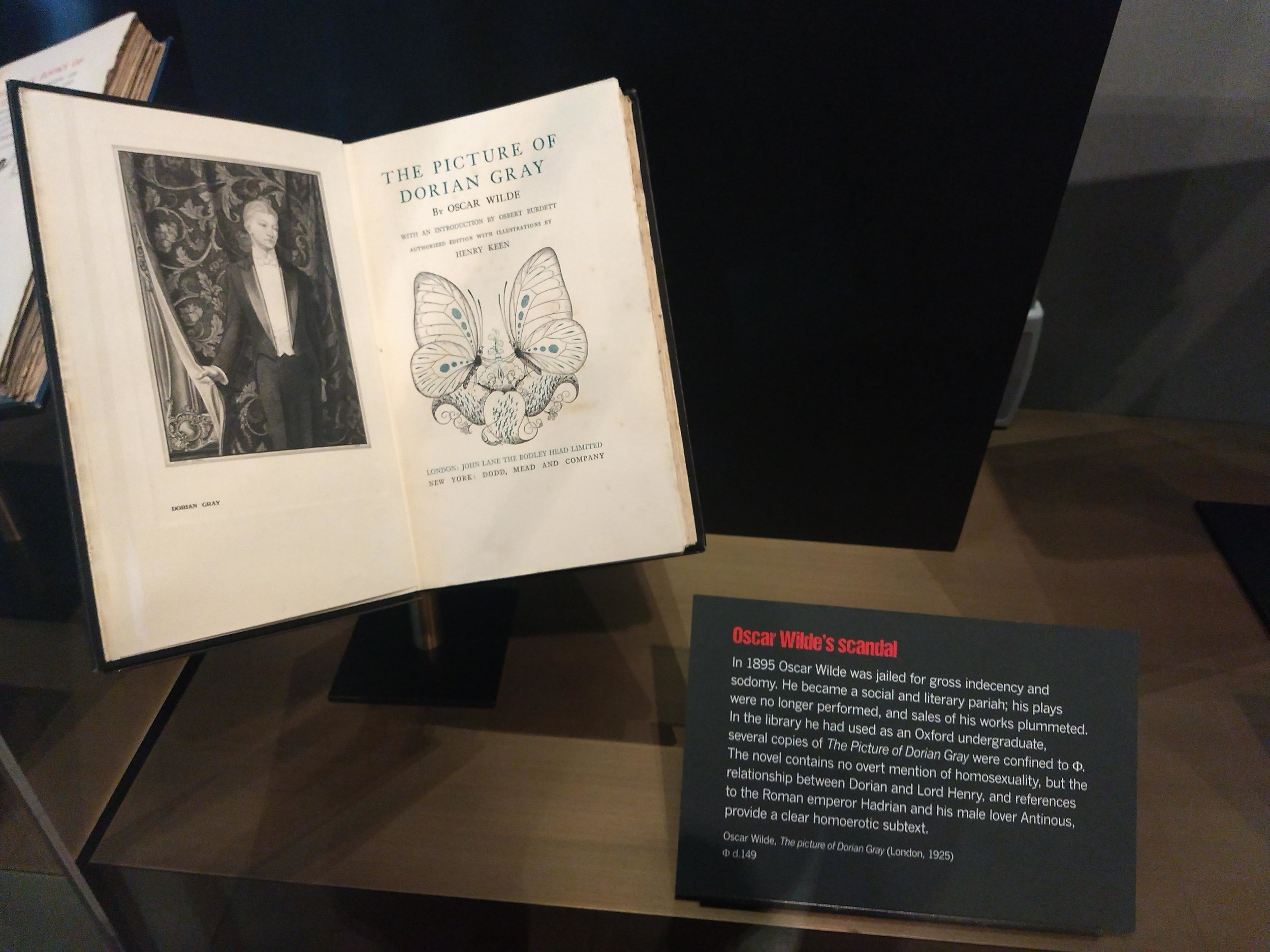 Story of Phi exhibit at Weston Library