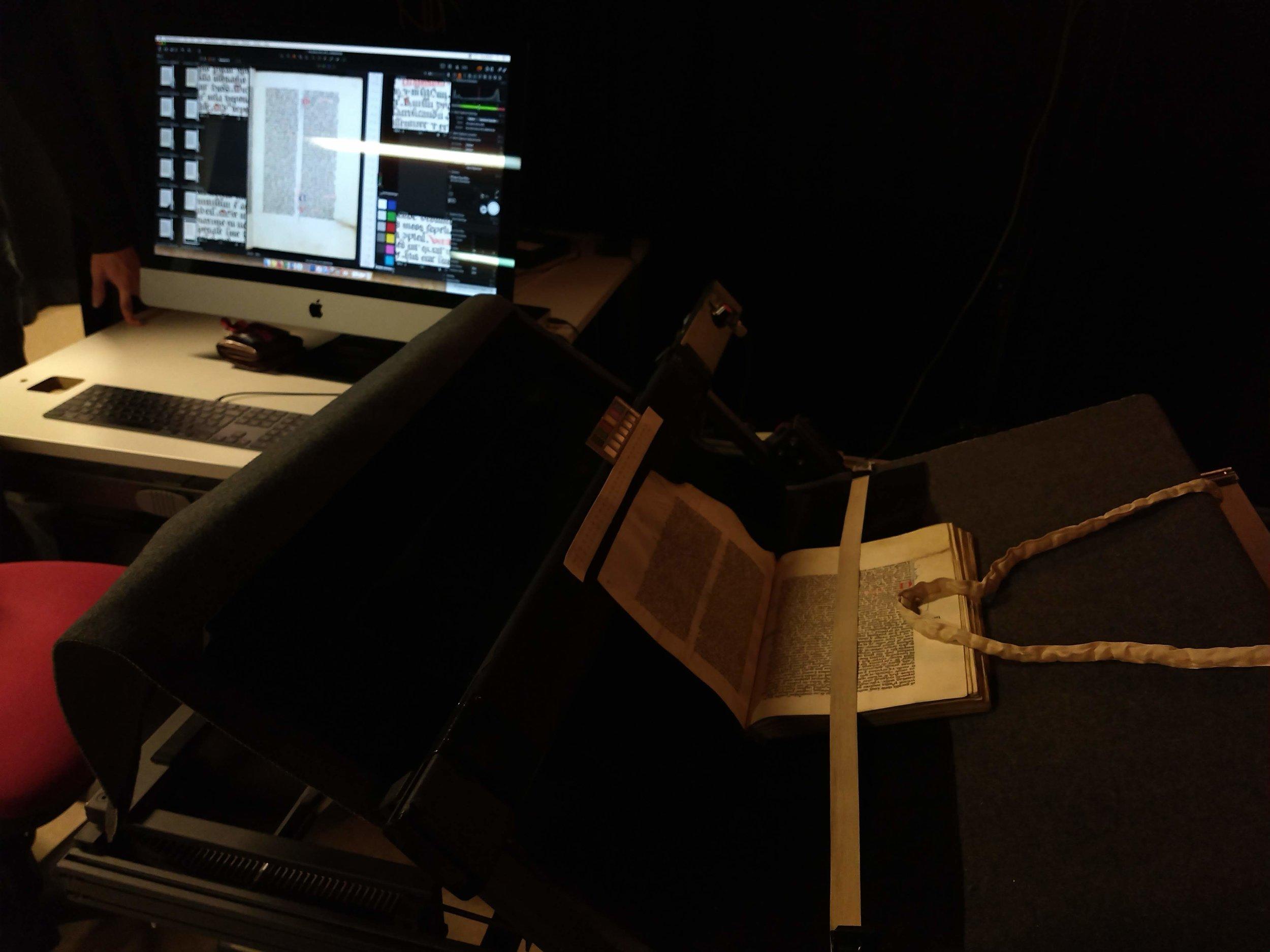 Imaging Service set up at Weston Library
