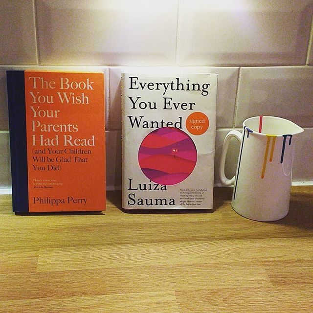 I never read for pleasure. This last two months however I read two amazing books. They would  make a great pairing for #newparents and a #bookclub. Thank you #philippaperry and #luizasauma. @thebookyouwish @luizasauma #thebookyouwishyourparentshadread #everythingyoueverwanted #iriscohen