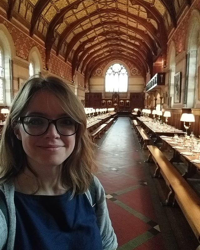 Just led a session on Time-Based Media at Keble College for the Digital Humanities at Oxford Summer #dhoxss2019 #DigHum #AVArchives now for lunch....