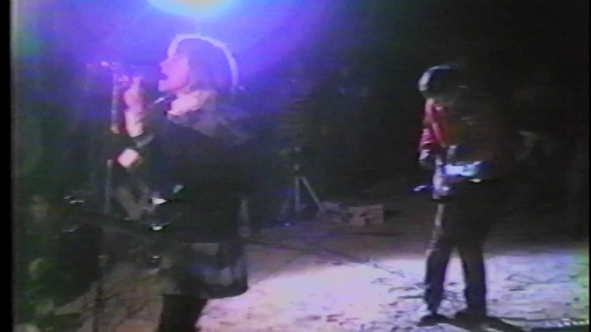 Sonic Youth performing at Desolation Center's Gila Monster Jamboree in 1985,