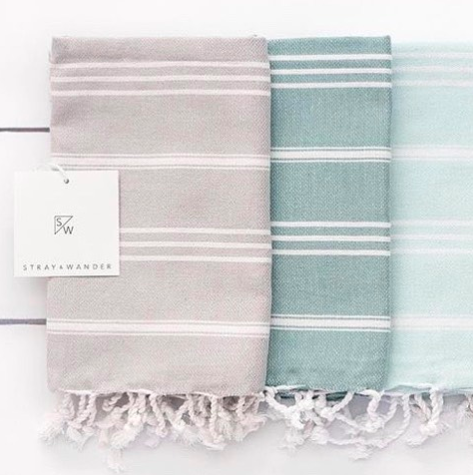 Stray & Wander - Turkish Towels & Linens