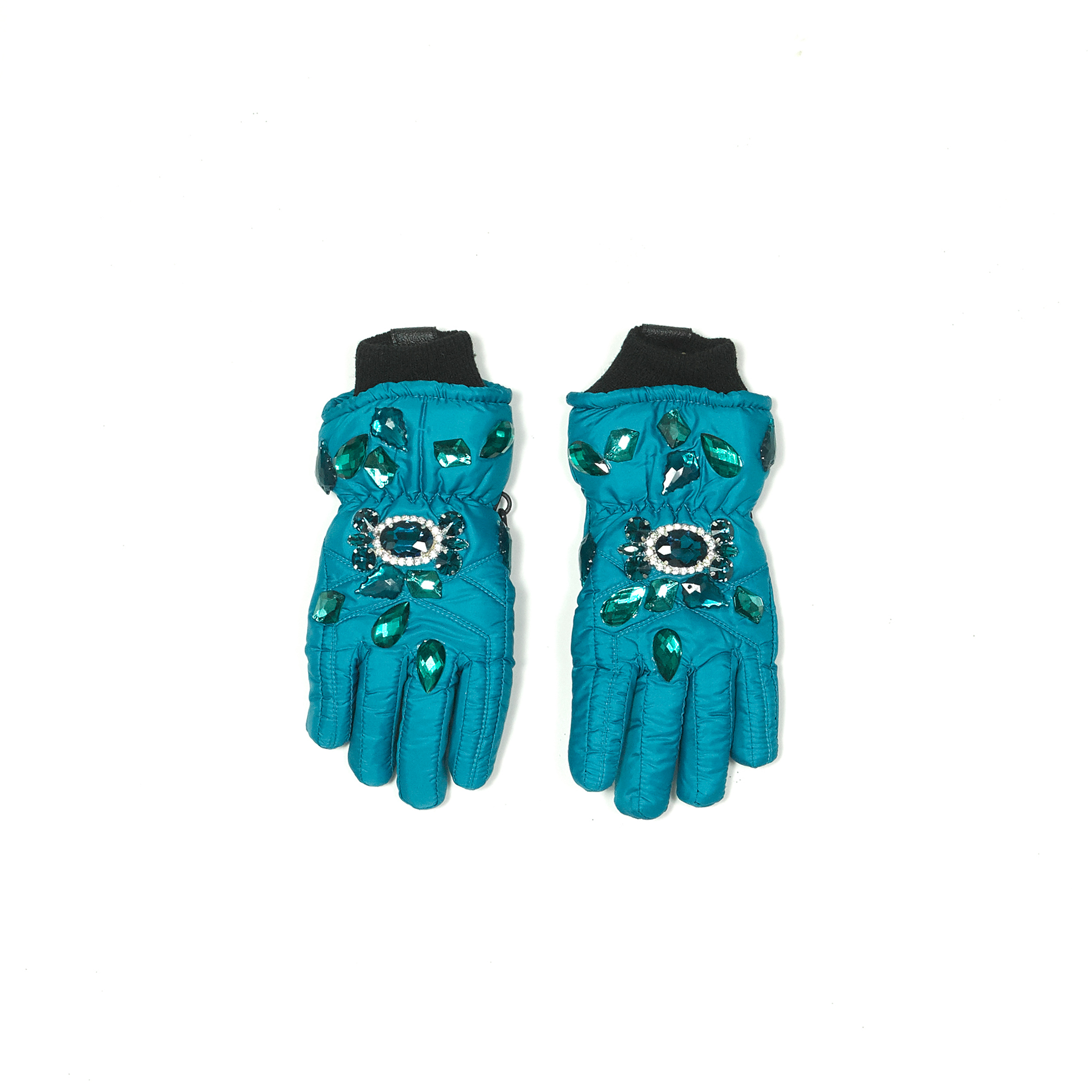 Embellished Puffy Glove<br>$220