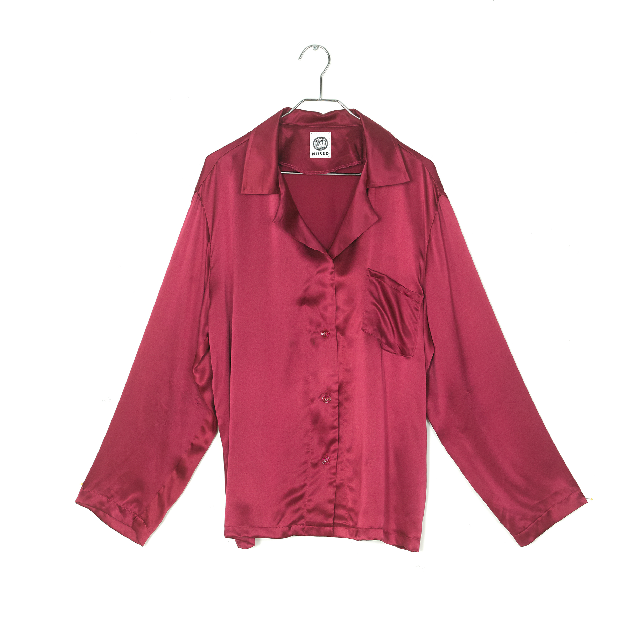 Silk Pajama Day Wear Top<br>$320