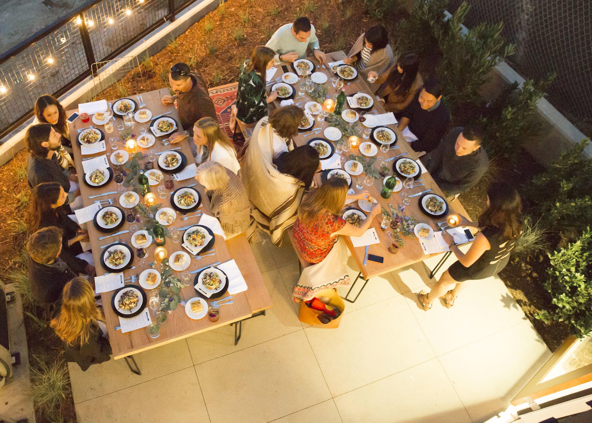LocalConstruct Blackbirds Supper