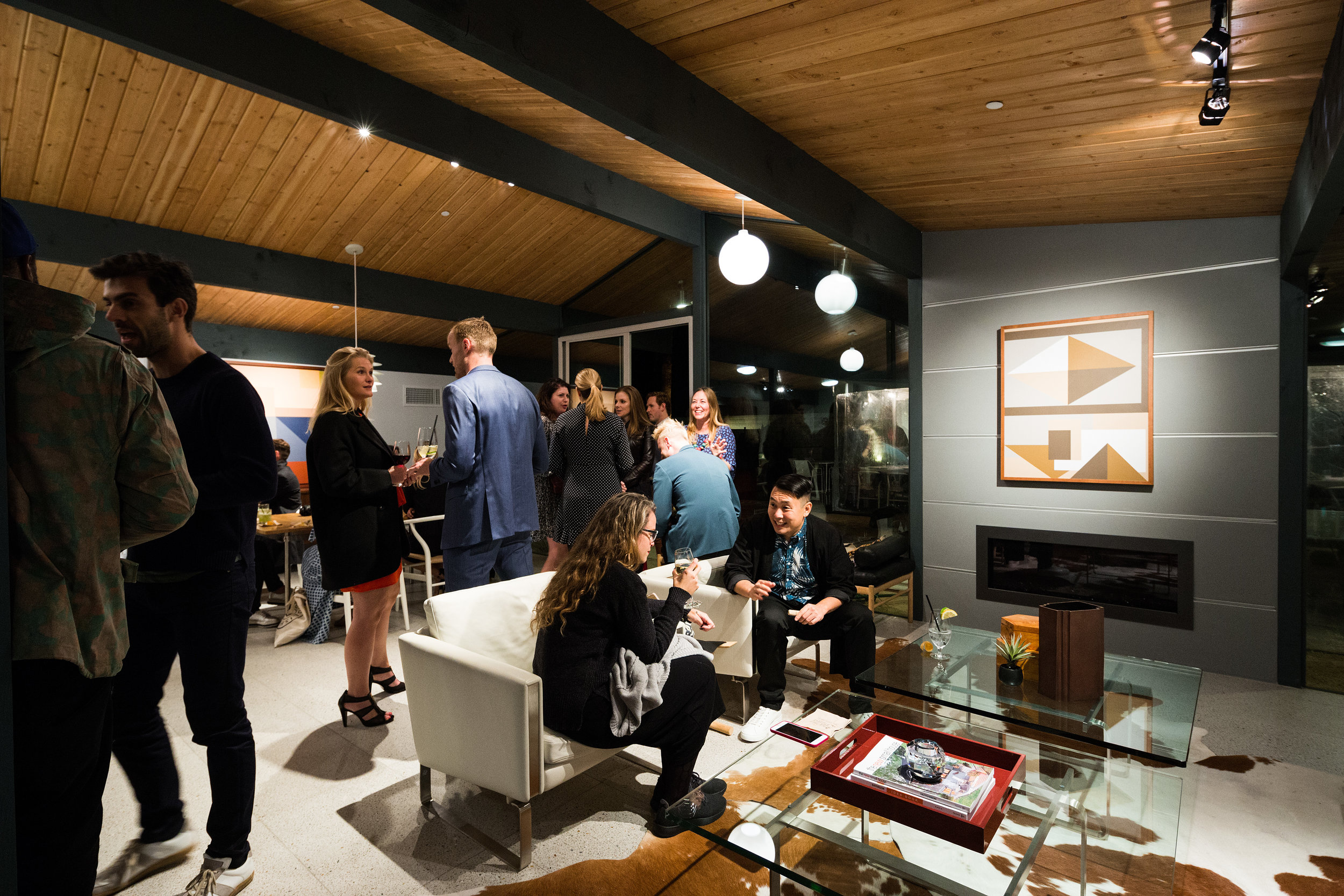 Modernism Week Social House Playlist Potluck with Sonos