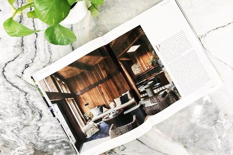 SALT + BONES in  Interiors Magazine . Photo by  Laure Joliet .