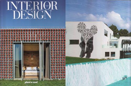 tecARCHITECTURE in Cosmopolitan Interior Design.