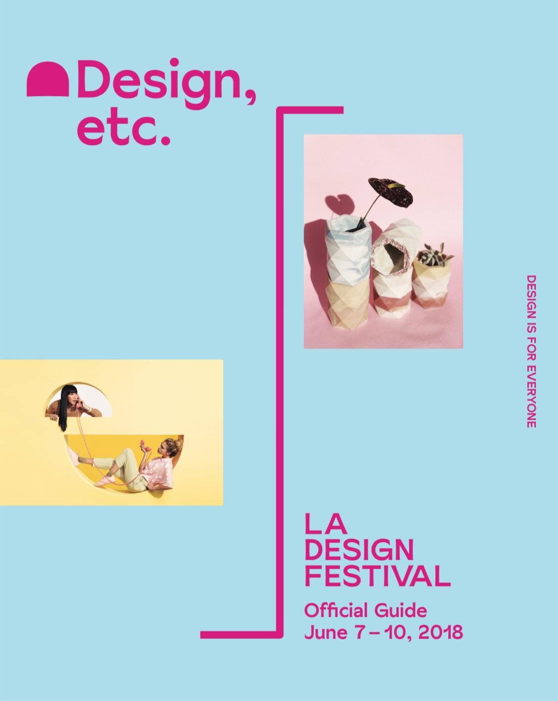 Design, etc. Magazine    - The LA Design Festival Magazine