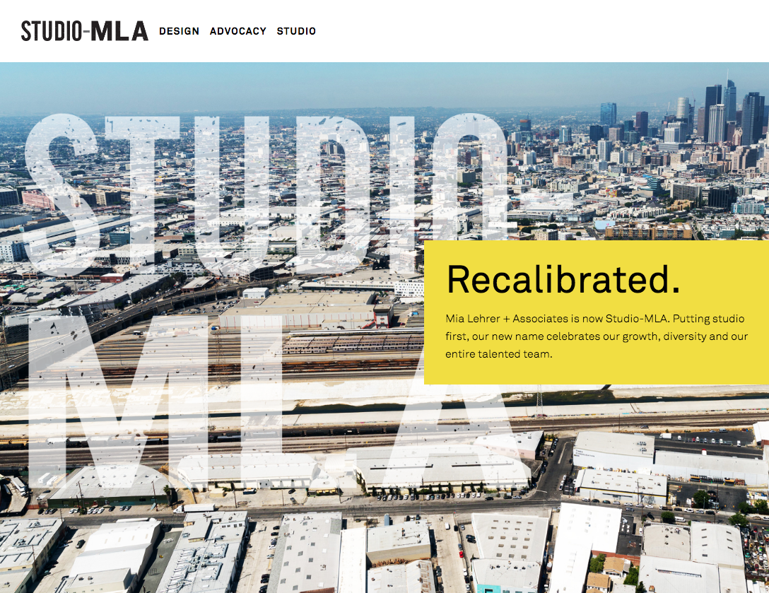 SA worked with Studio-MLA to improve the functionality of the site, e-mail newsletter, and other digital marketing tools.