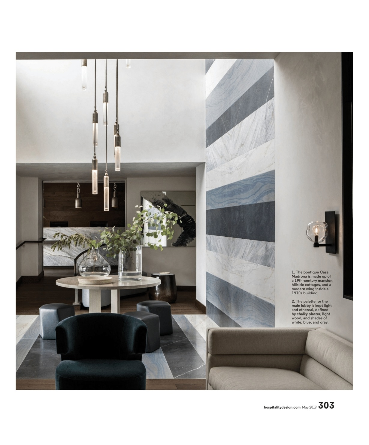 SALT + BONES featured in   Hospitality Design  . Photo by Laure Joliet.