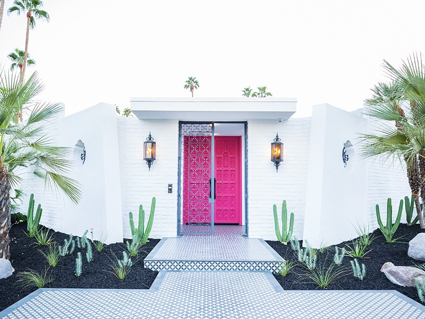 Modernism Week 2018 in  Golden State Magazine . Photo by  Fred Moser .