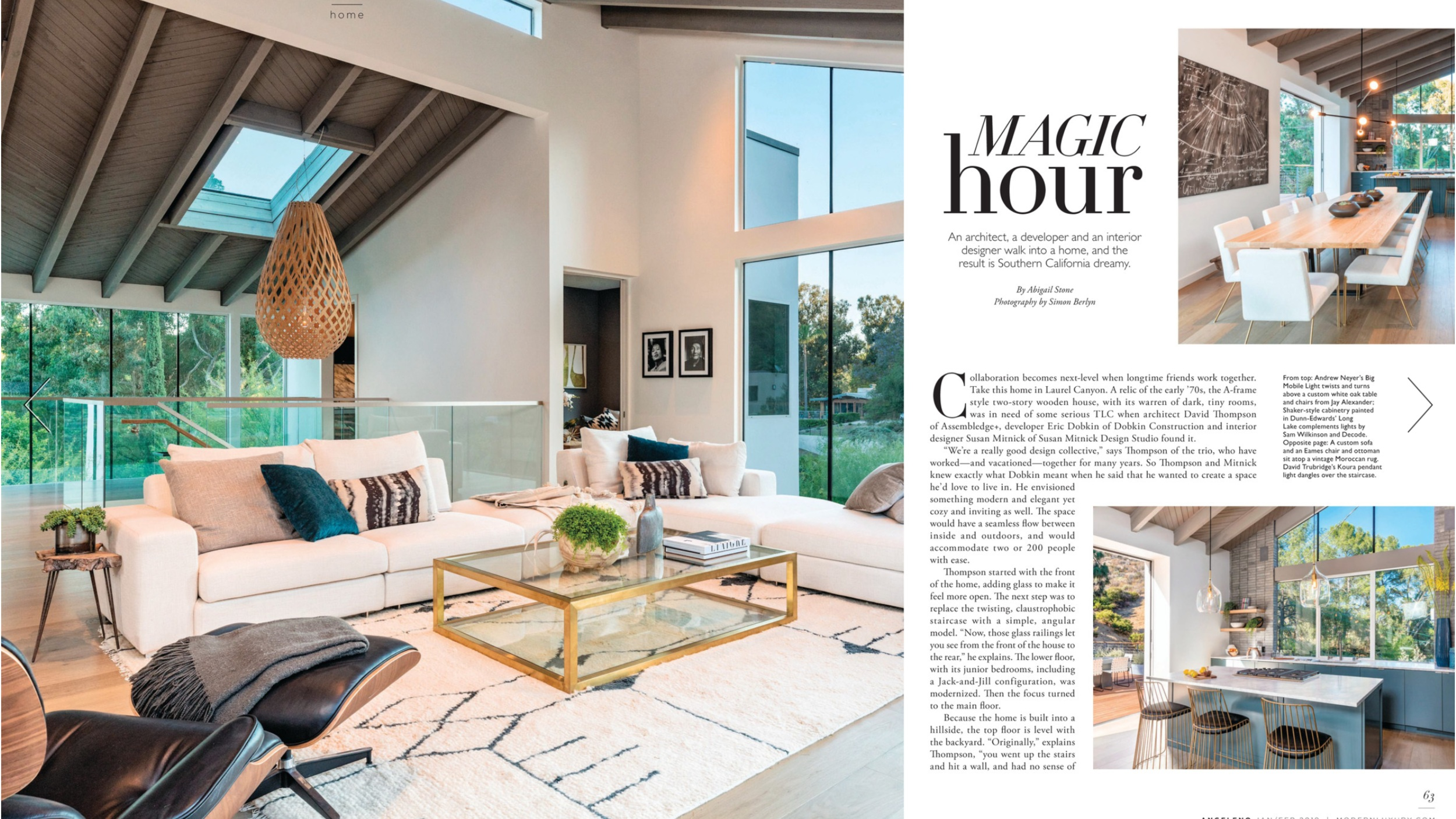Assembledge+  featured in   Angeleno  .