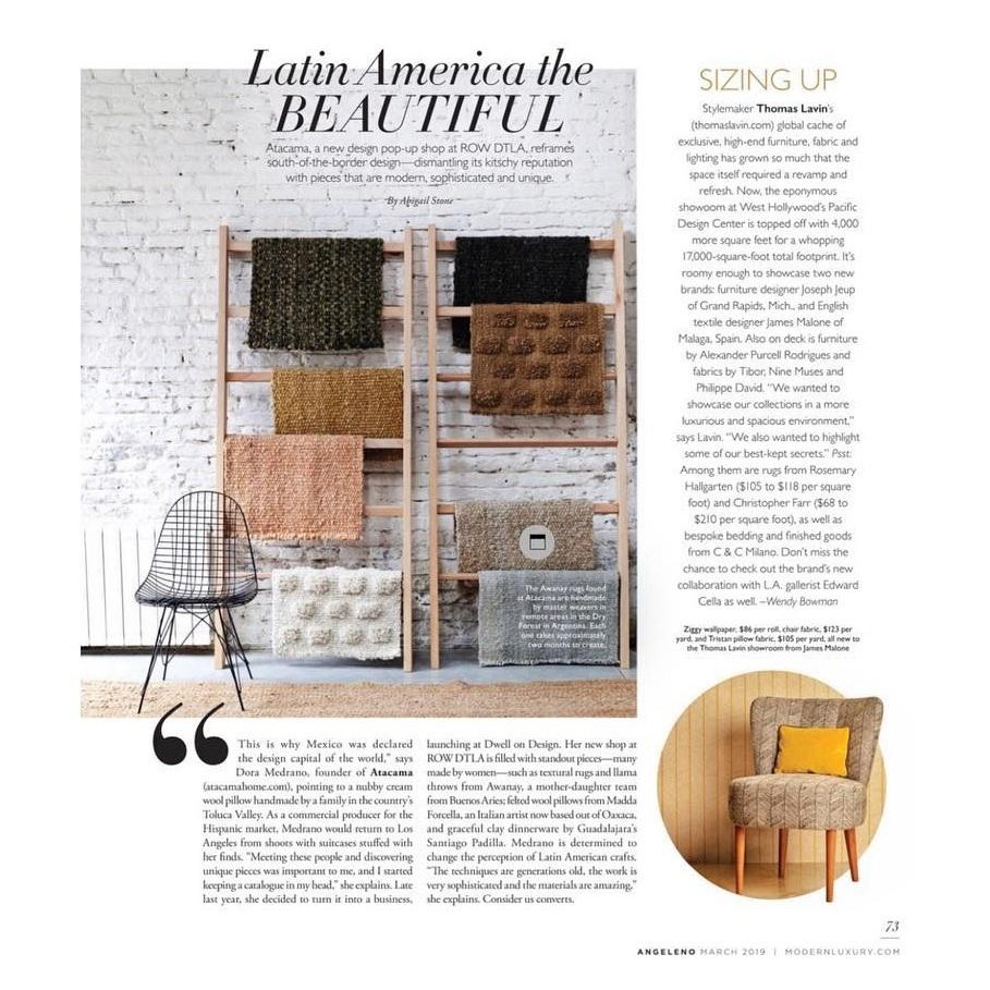 Atacama Home featured in   Modern Luxury  .