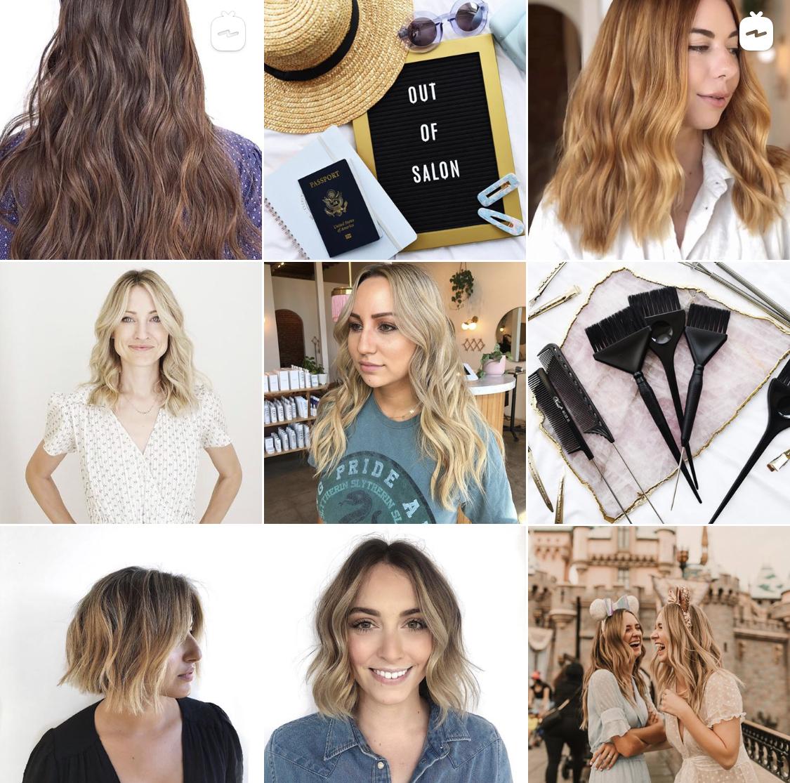 hair stylist instagram