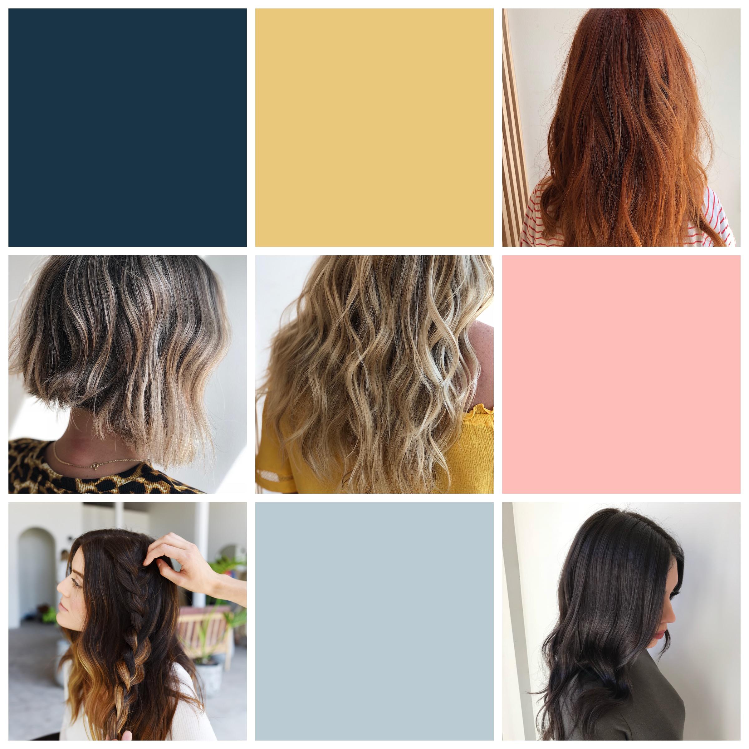 hair stylist instagram template