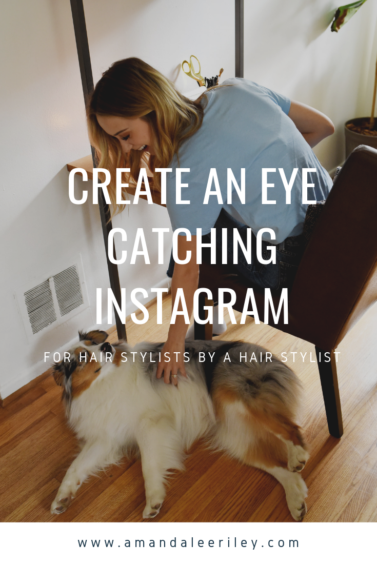 TEMPLATE TO CREATE INSTAGRAM FOR HAIR STYLIST