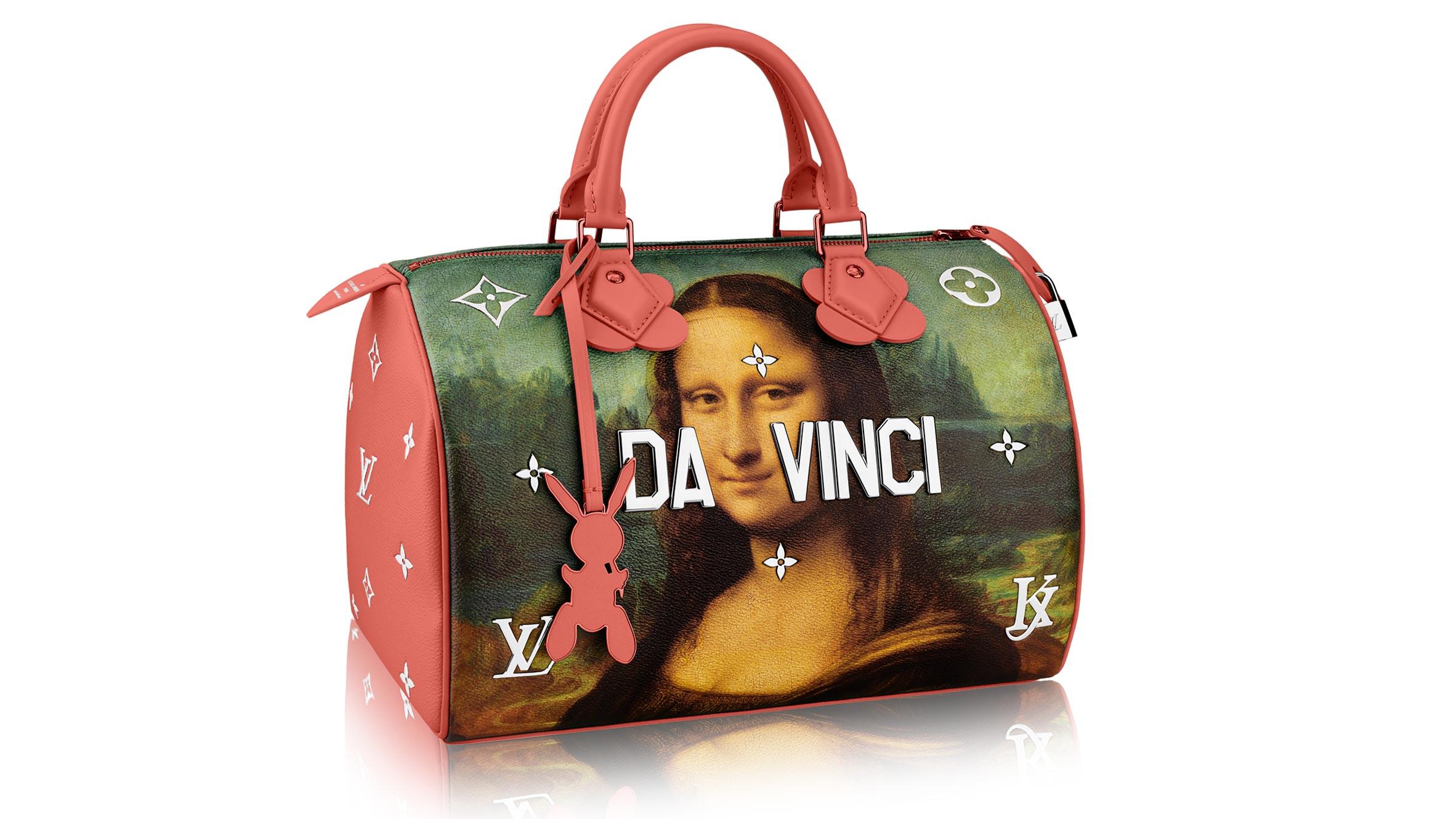 Louis Vuitton's latest collaboration with artist Jeff Koons interpreting Da Vinci's Mona Lisa.jpg