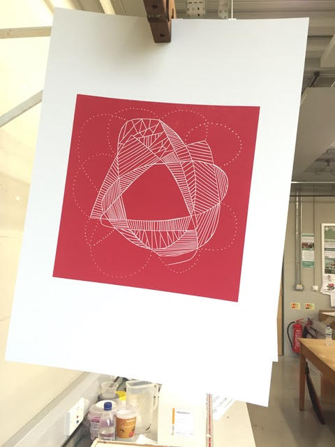 The Lino Print for the Cherry Blush Red scarf.jpg