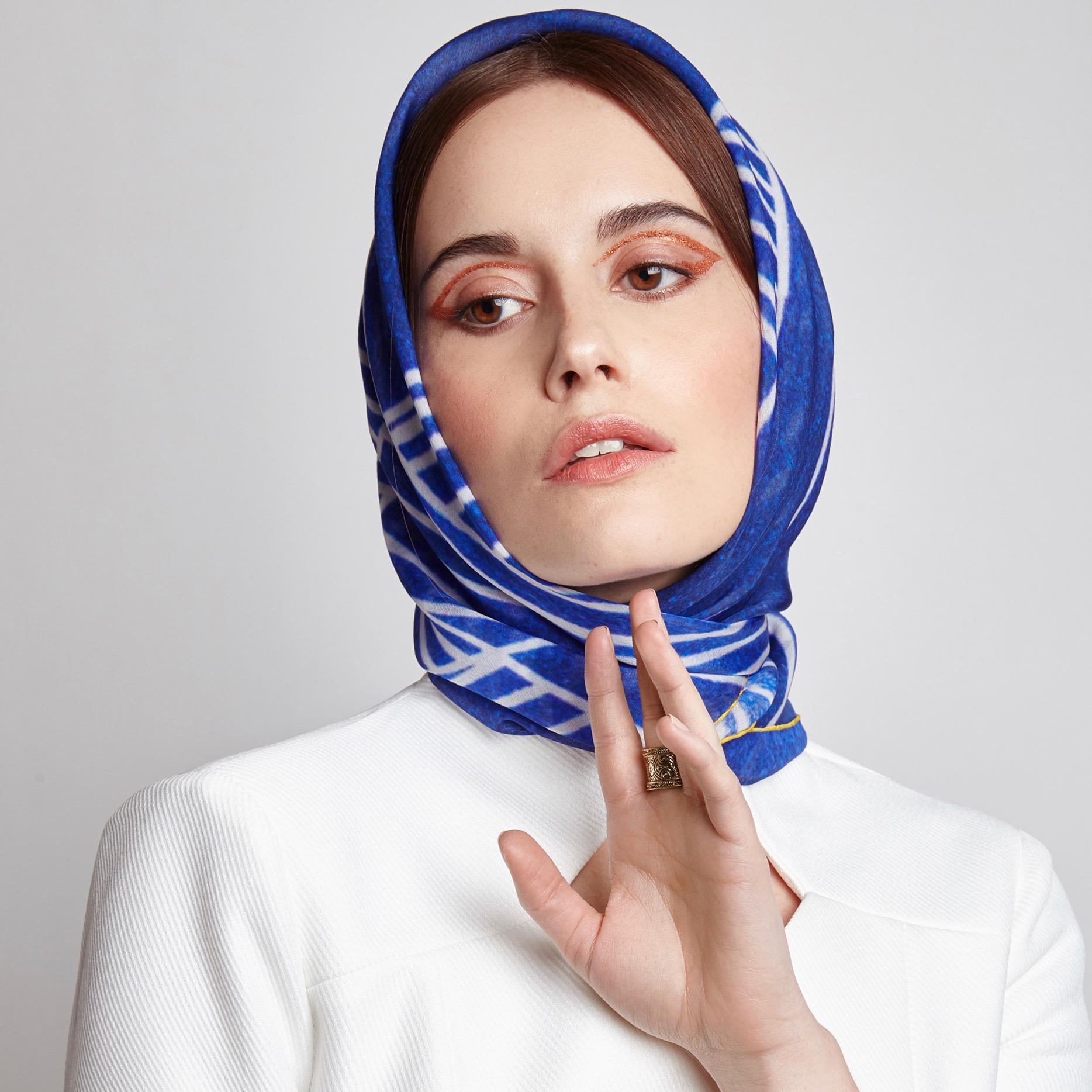silk scarf