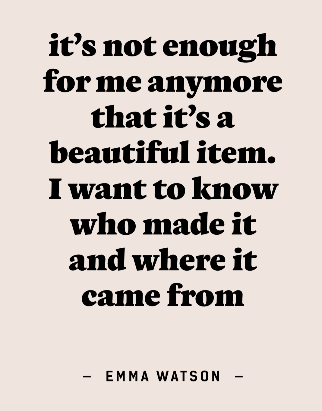 Quote by the Actress Emma Watson