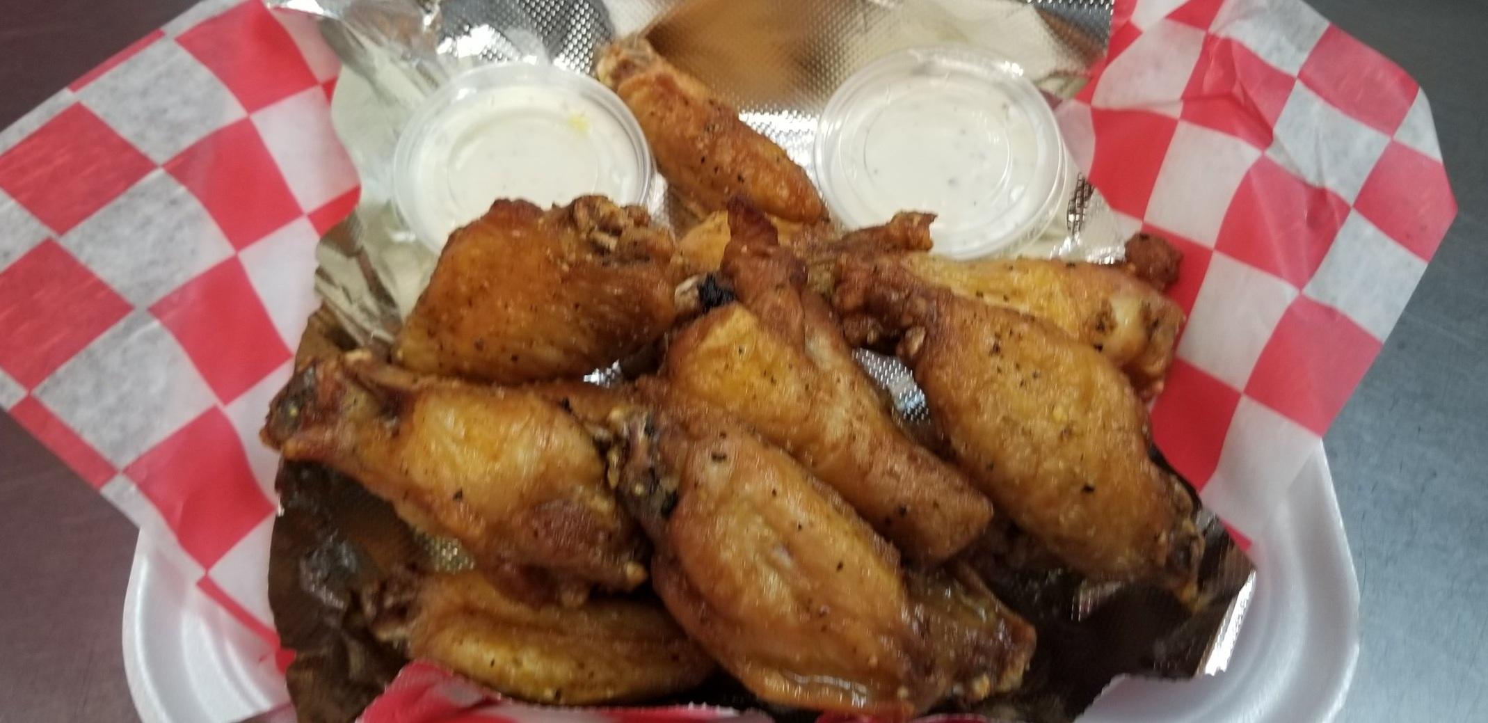 Plain Chicken Wings!!!