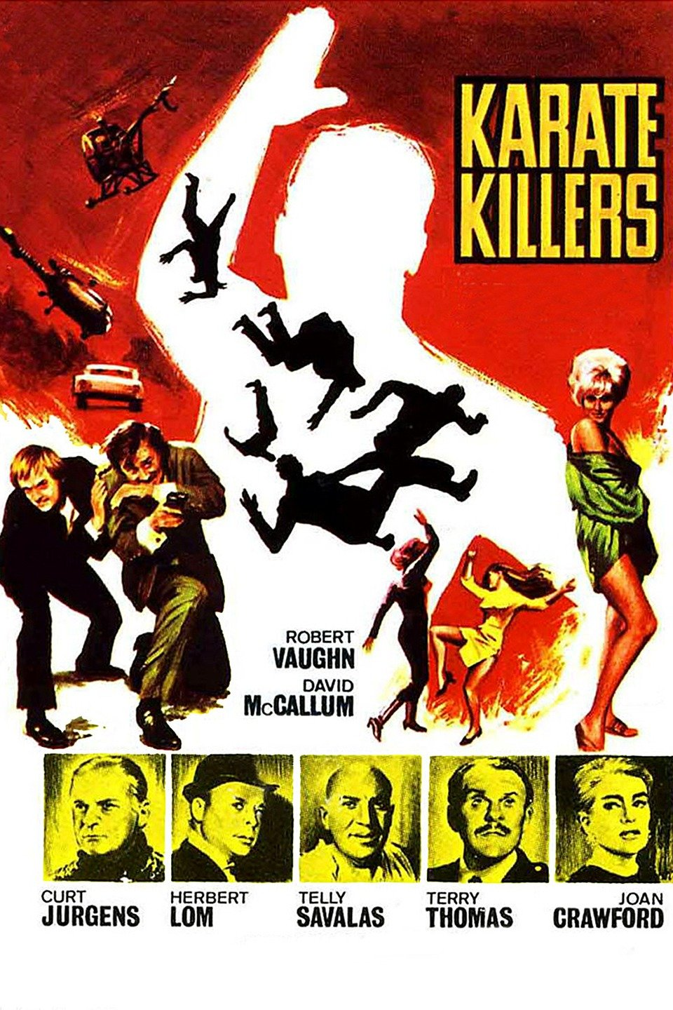 The Karate Killers kill everything… especially anything good in this movie.