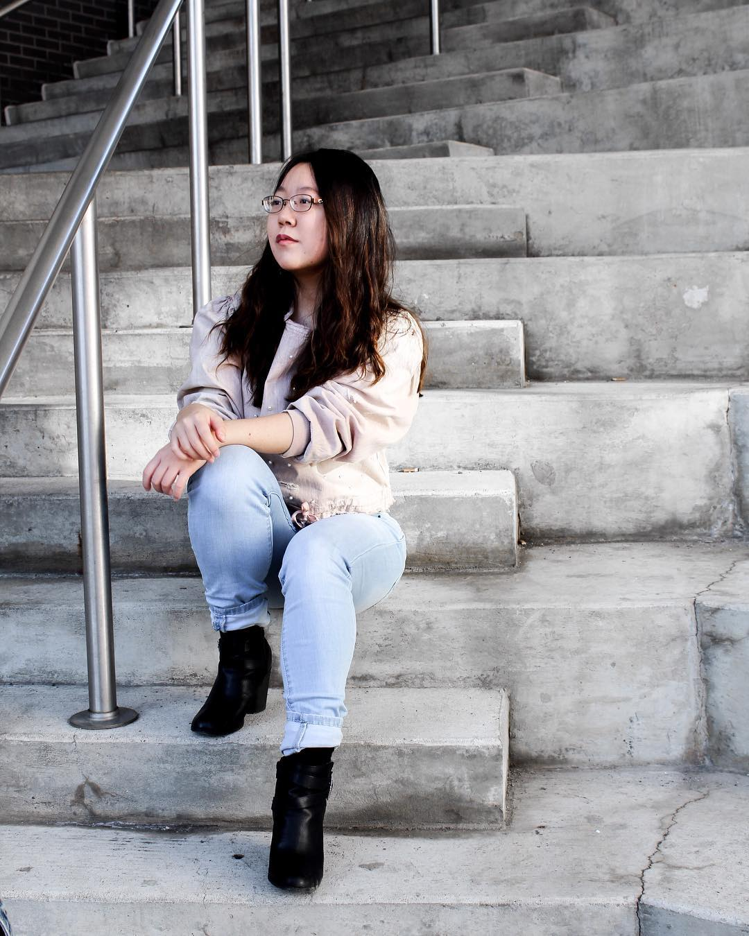 Taken at the steps of the Radian  Pic creds  Amber Hsu