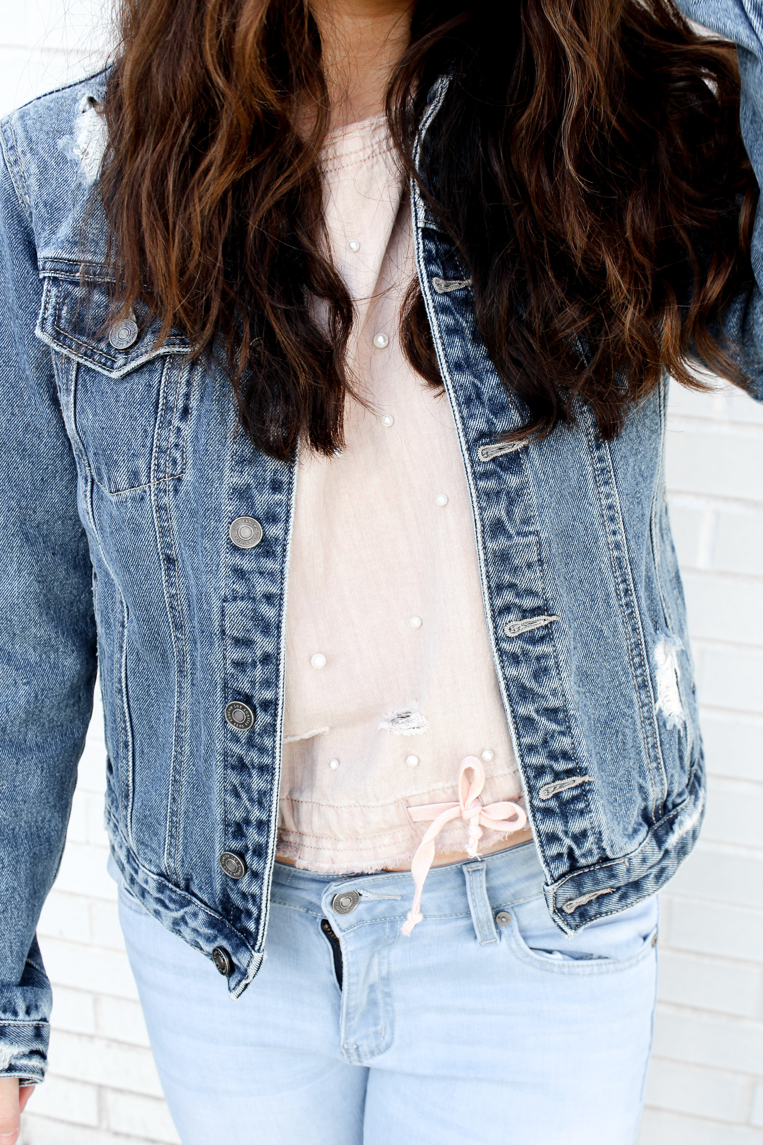 Closeup of my outfit (deets)