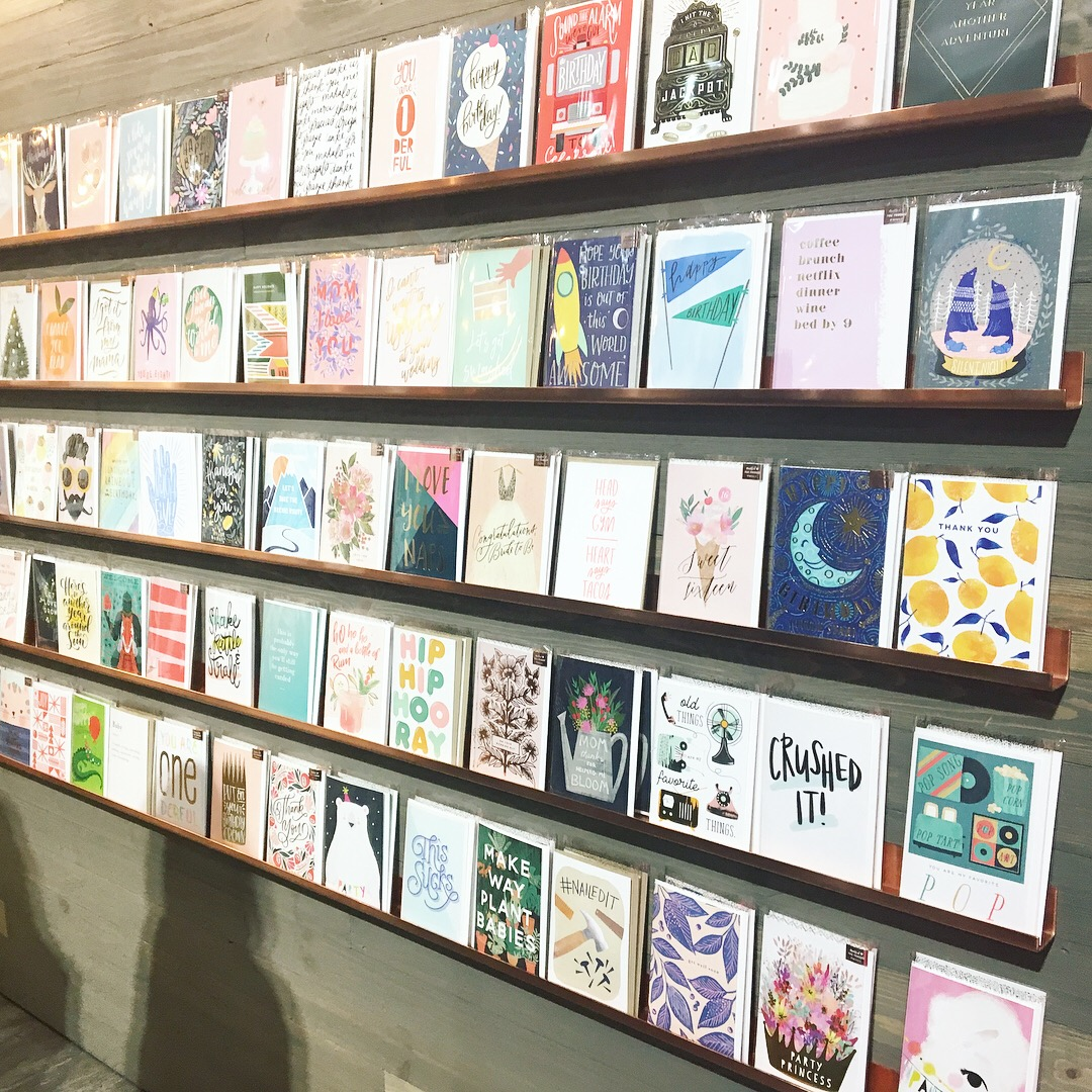 A selection of Minted's new greeting card collection.