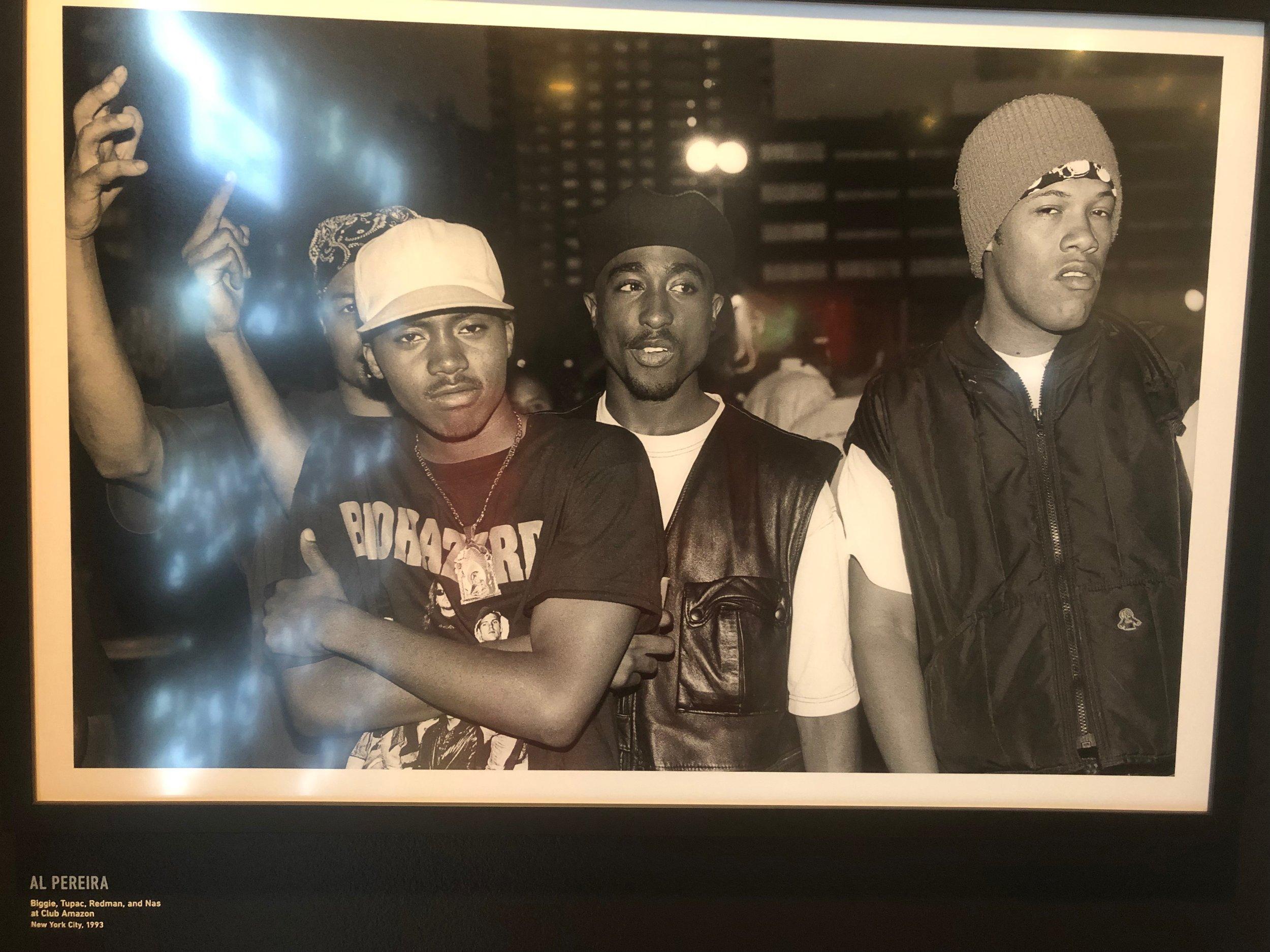 nas, tupac, redman. -