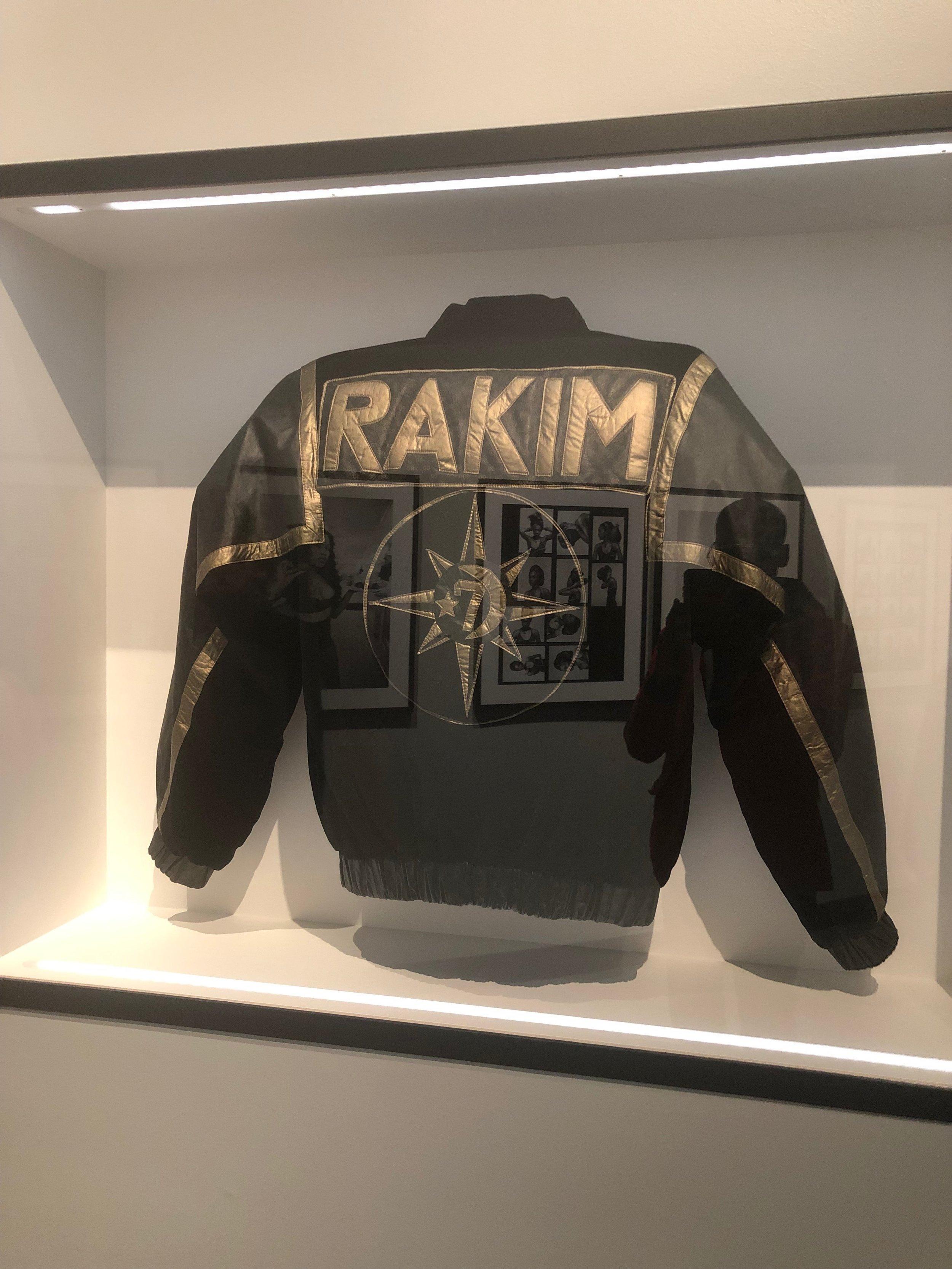 rakim's jacket. -