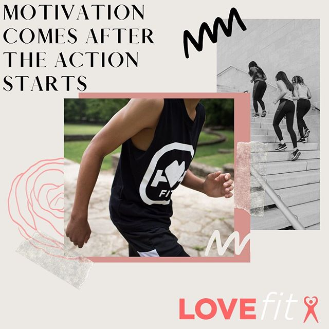 Motivation is often the result of action, not the cause of it.  Getting started, even in very small ways, is a form of active inspiration that naturally produces momentum. @jamesclear