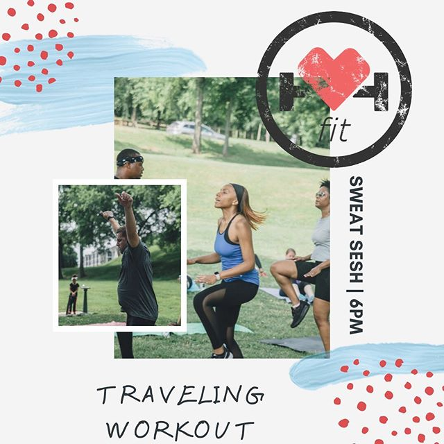 T R A V E L I N G WORKOUT, tonight! We take our workout to the streets of Music Row, where we will complete running intervals, paired with standing core exercises & a little rest 😉  Make it to class by 6:15pm, please. See you tonight!!