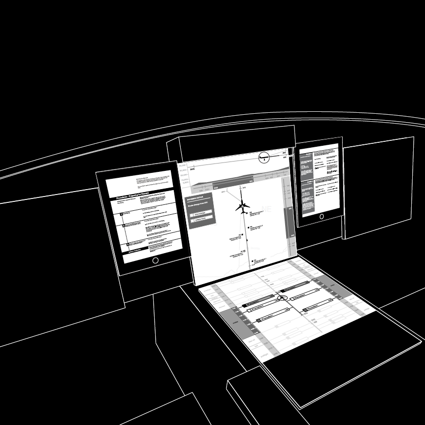 Digital Wireframes in Space