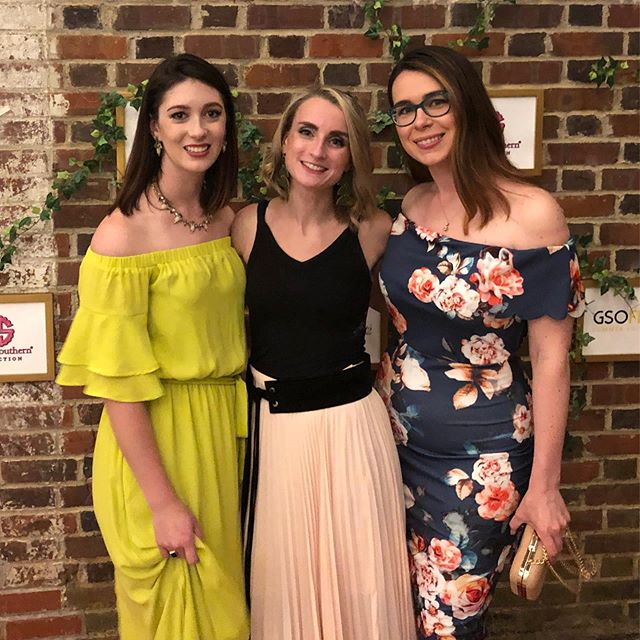 Had such a lovely time last night watching and supporting @amberkapas719 at #greensborofashionweek summer show last night!! . . . . . #gsofw #fashion #fashionshow #diyfashion # Greensboro #msmakes