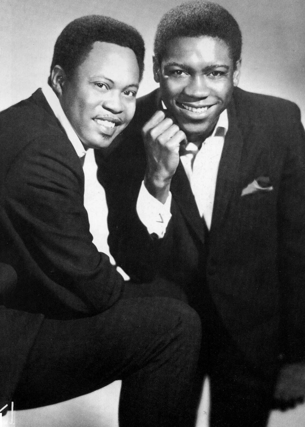 "Sam & Dave sang ""Soul Man"" in London, a community in Walnut Cove."