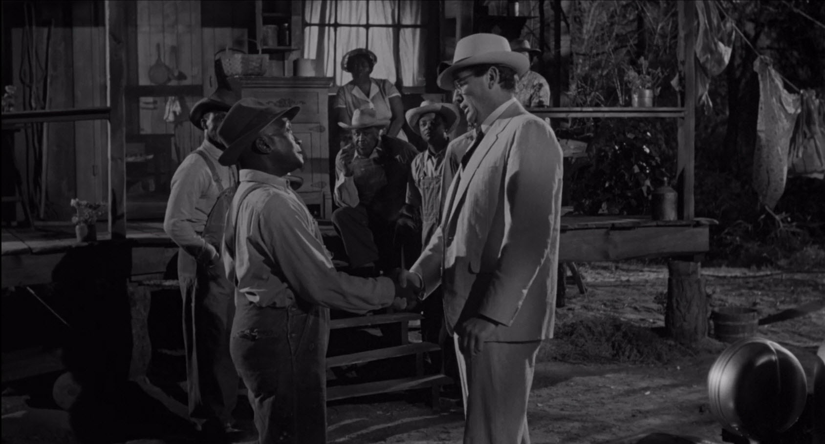 "Jester Hairston, starring with Gregory Peck, in ""To Kill a Mockingbird"""