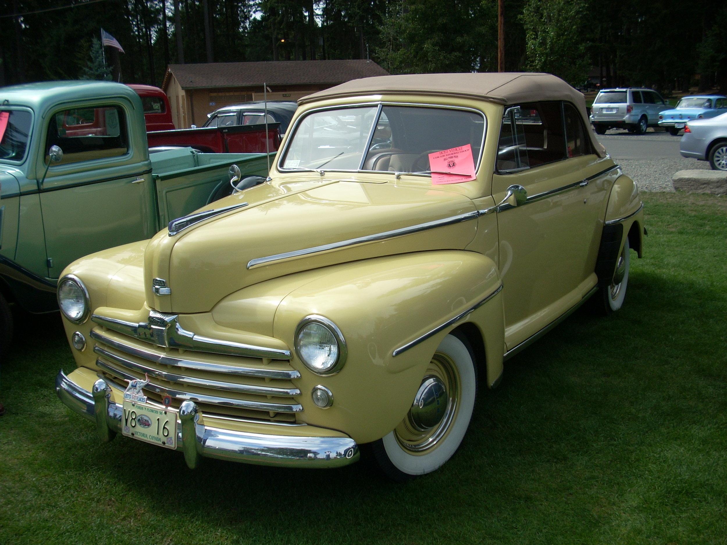 Bob Porter - 1948 Ford Convertible