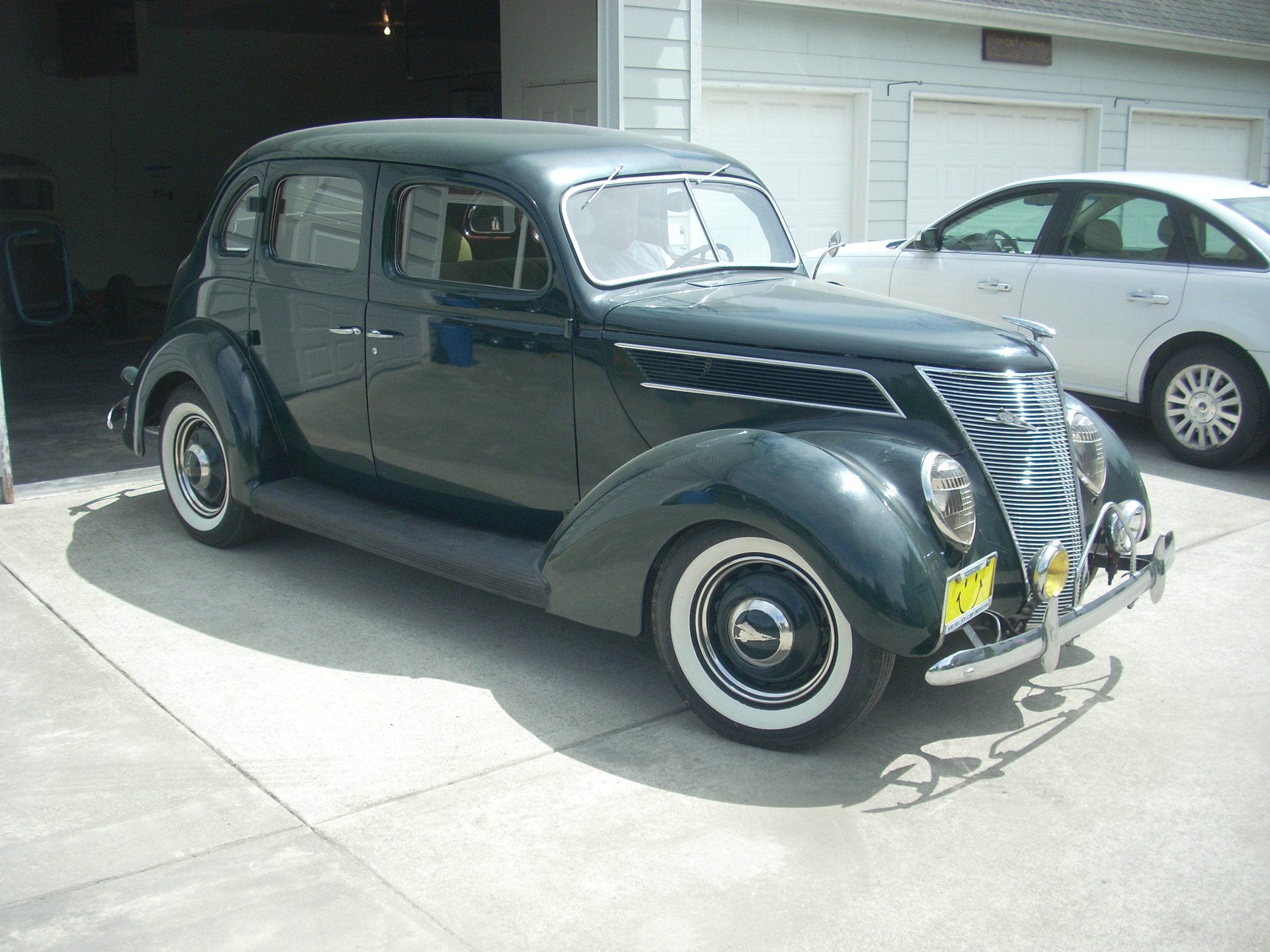 John And Nancy McGinnis - 1937 Ford 4-door Sedan