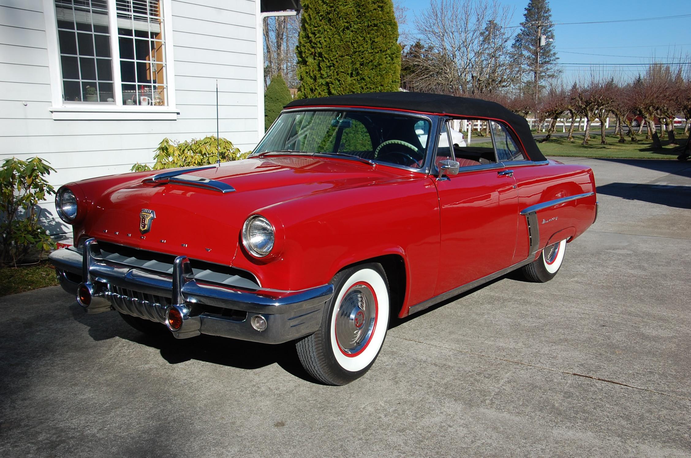 John And Nancy McGinnis - 1952 Mercury Monterey Convertible(1st year of the Monterey)