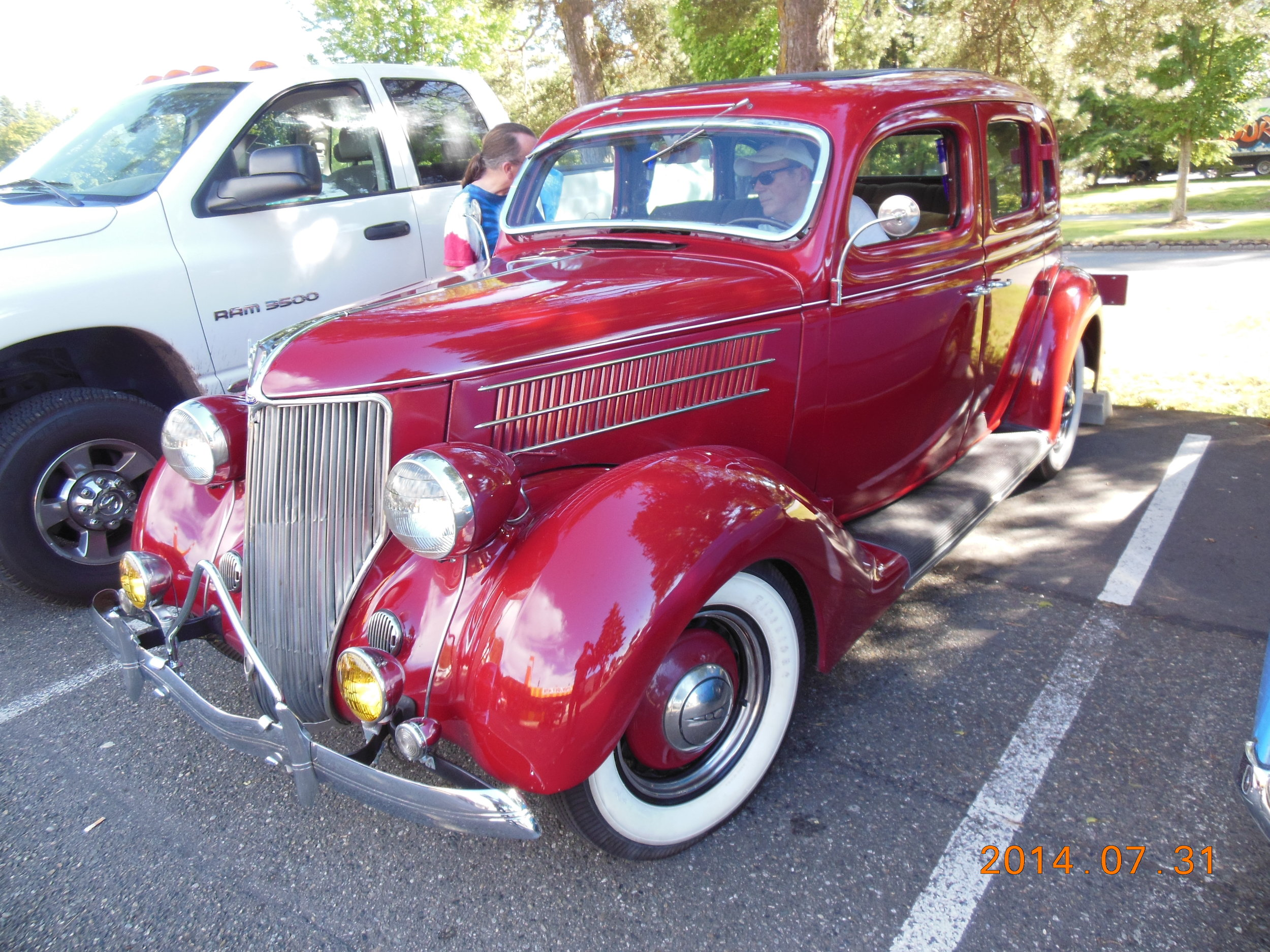 Bruce and Cris Nichols - 1936 Ford 4-Door Sedan
