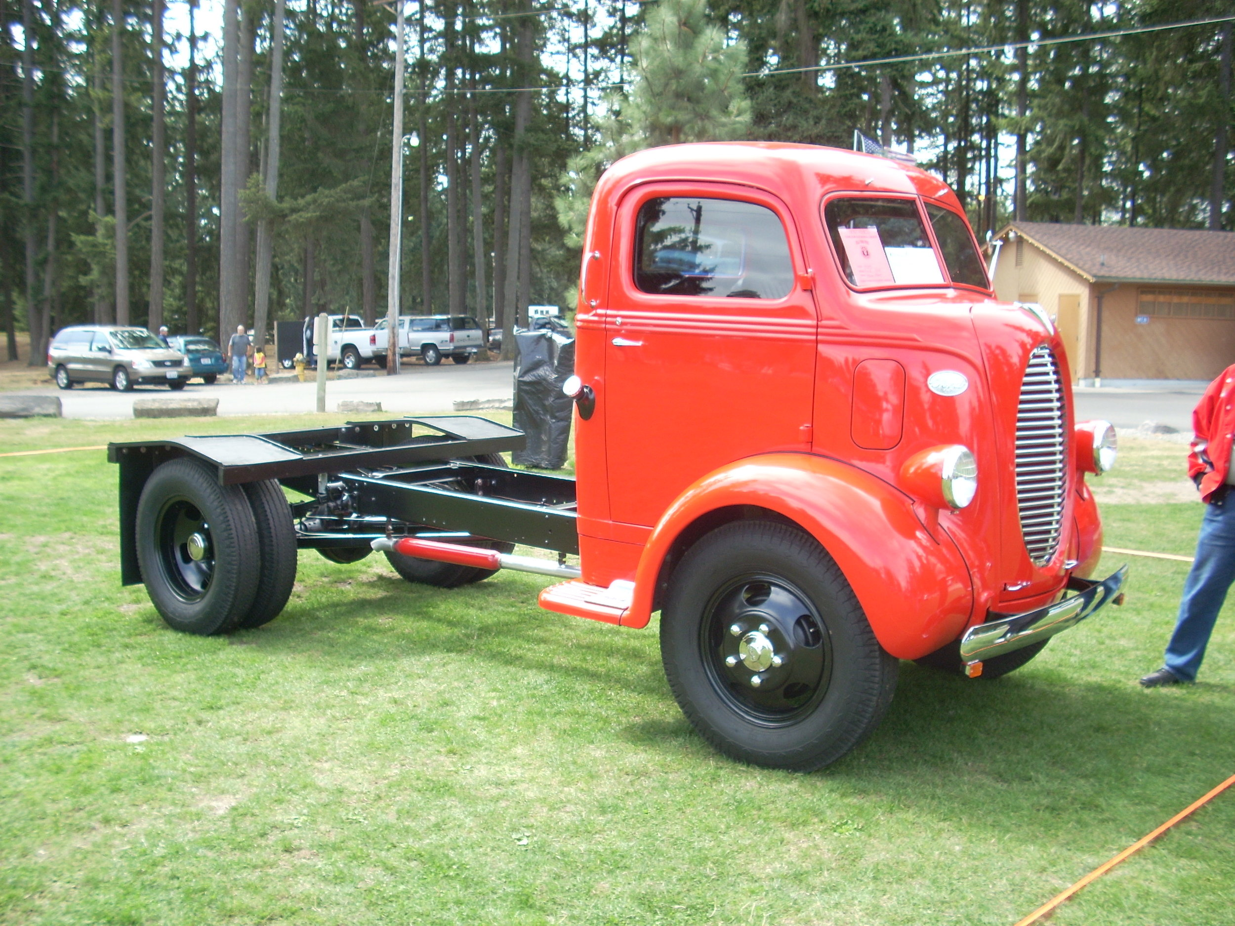 Steve and Jaycie Albert - 1939 Ford Coe 1 ½ Ton Truck