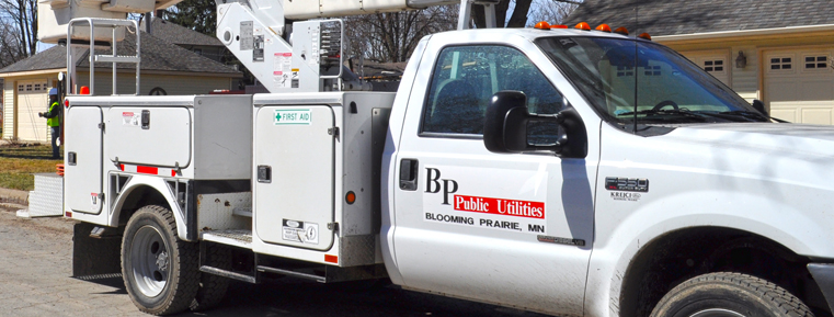 Beyond keeping the lights on … - Whether it is helping customers with energy efficiency rebate applications, or simply providing a recognizable face to our customers, we strive to better our community any way we can.