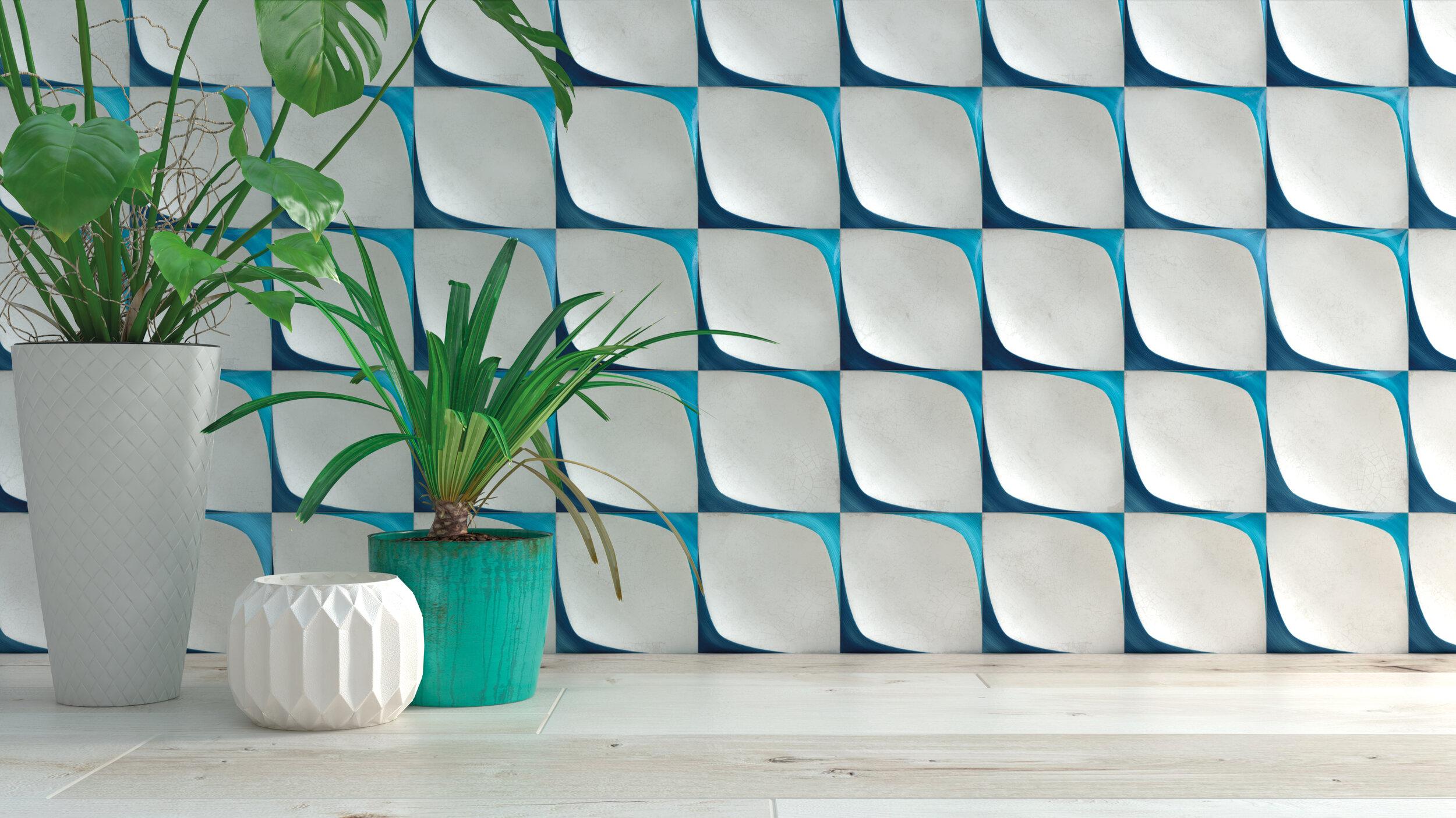 20pcs Blanc Bleu Turquoise Laver Triangle de Verre tch/èque Plat Drapeau Sculpt/é de Perles 12mm x 7mm