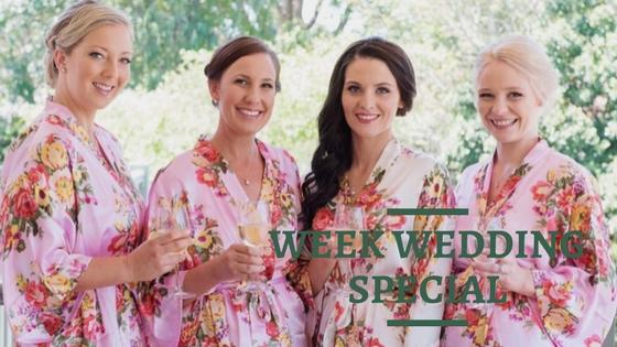 Week wedding special