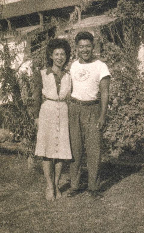 Miye Tachihara and Ken Ota in Arizona