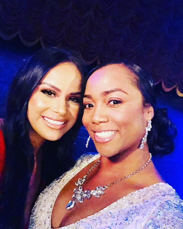 Flashing back to sharing the weekend, a stage and apparently a magazine cover with this beautiful Spiritual #Boss Chick! ✨ Allow me to introduce you to this beauty #influencer and #YouTuber who owns a #makeup and #hair #bridal business! She is beautiful both inside and out and just a pure hearted pleasure to be around. ✨ If you need a #MUA she's the right one! You can follow her business at @beautyjam_