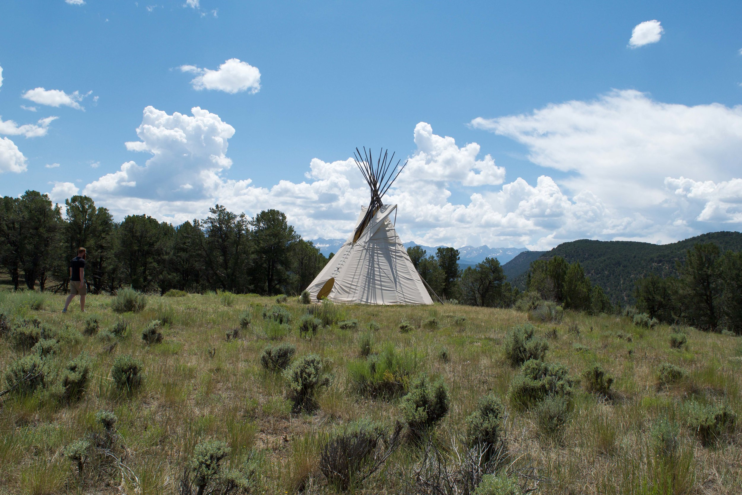 Learn more about the Ute People on the Discovery Nature Trail at Ridgway State Park.