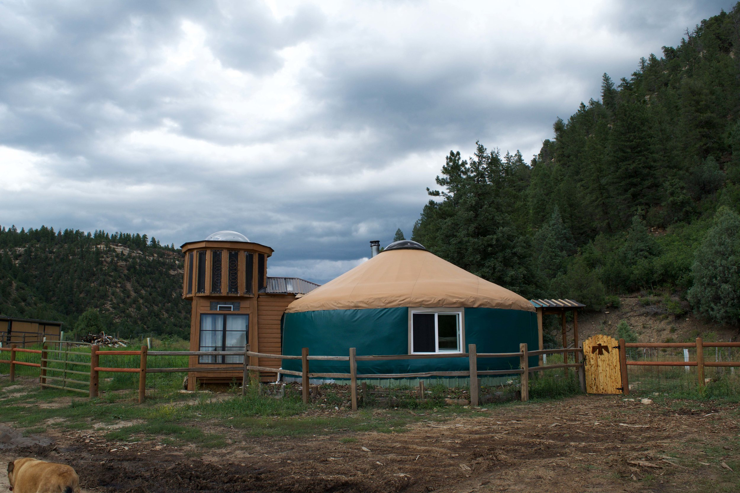 Stay in a yurt near Mancos